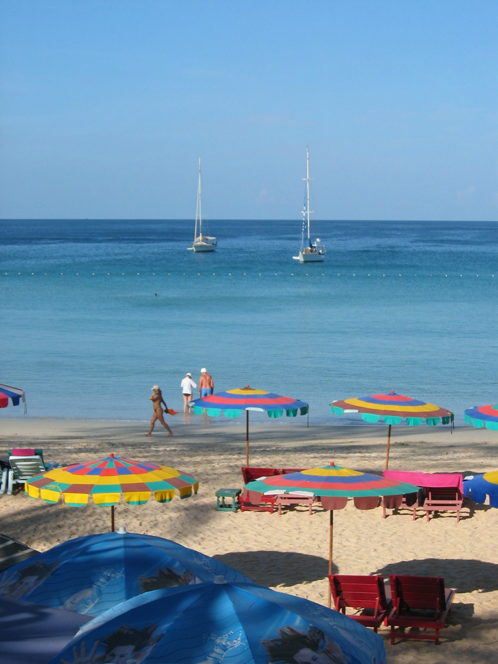 Kata Beach Umbrellas